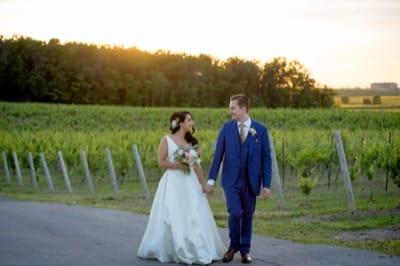 Vineland Estates Winery wedding pictures