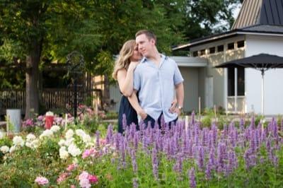 Paletta Mansion Burlington engagement pictures