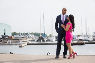 Port Credit Engagement Pictures