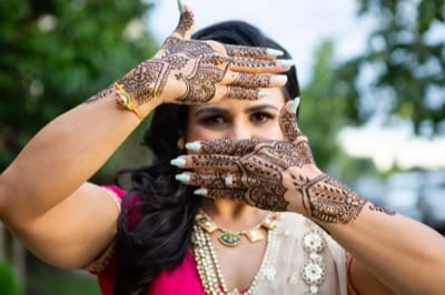 Mendhi Toronto Wedding Wedding Photo