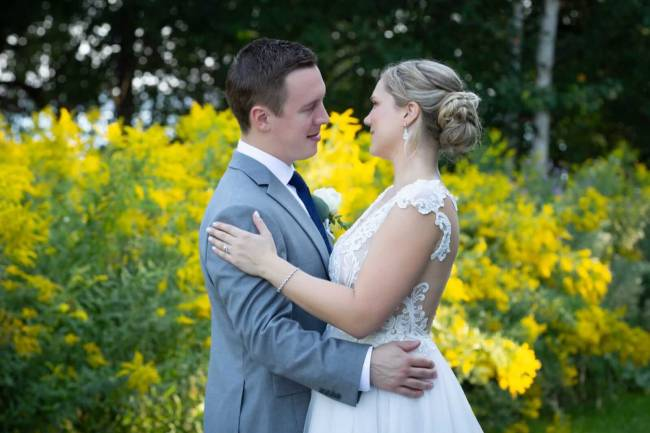 Wedding photography at The Lakeshore Convention Center