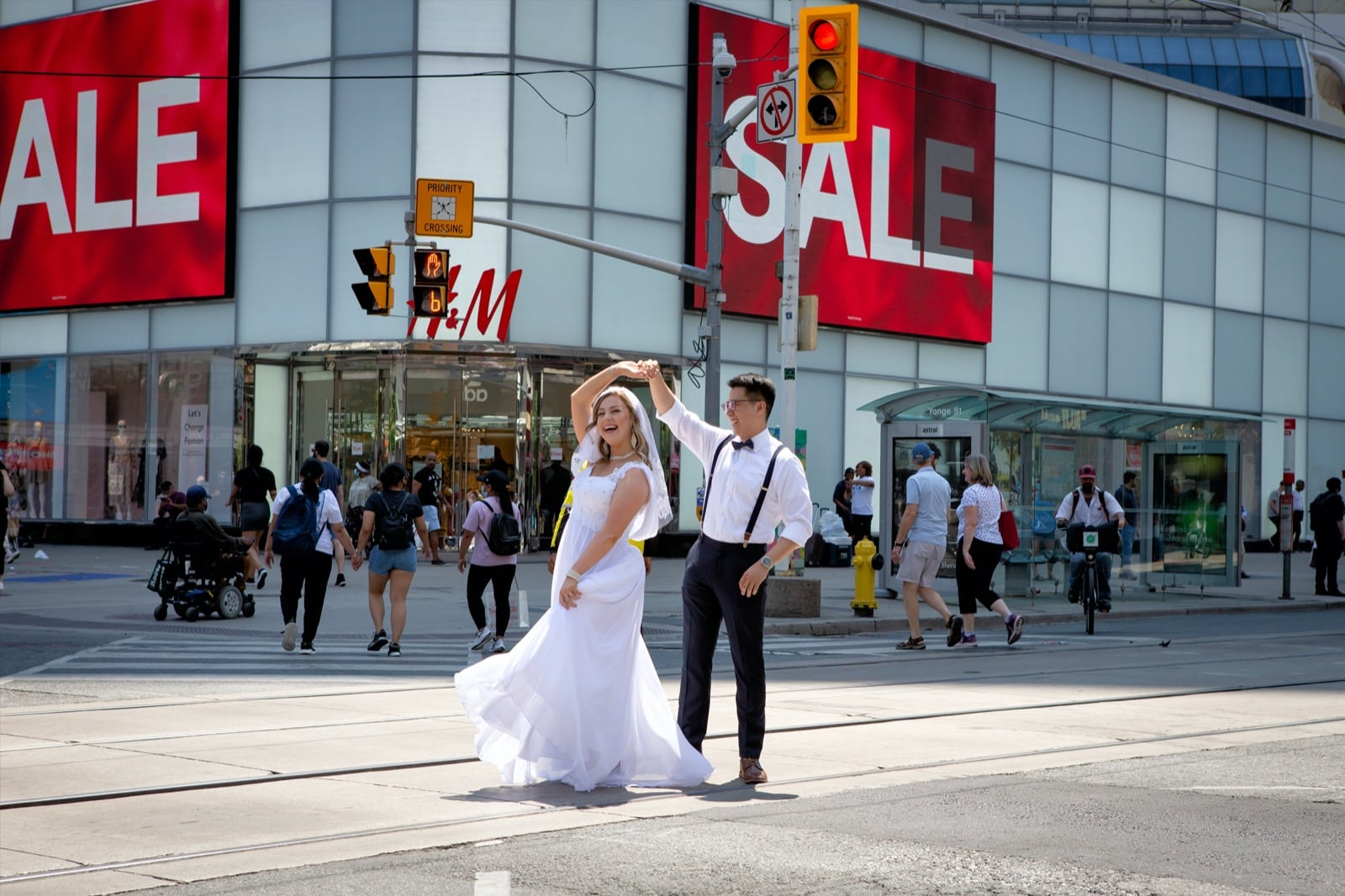Small Elopement Wedding Package Downtown Toronto